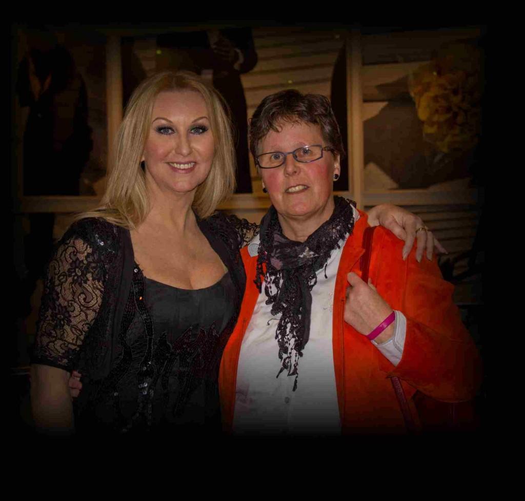 Petra Berger en Carla Jongman